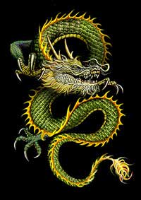 Chinese Dragon Oriental Dragons of Mythology Legend Folklore