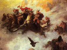 """The Ride of the Valkyries"" by W.T. Maud"