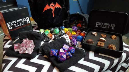 Easy Roller Dice Co Takes RPG Dice to a New Level